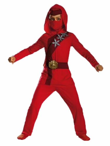 Disguise 72321 Red Fire Ninja Classic