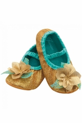 Disguise 83865 Jasmine Toddler Slippers
