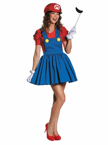 Disguise 85176 Mario Skirt Version Adult
