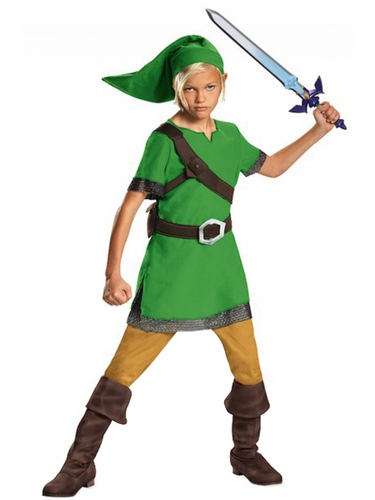 Disguise 85718 Legend of Zelda Link Classic