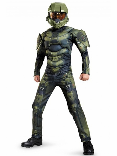 Disguise 89975 Halo Master Chief Classic Muscle