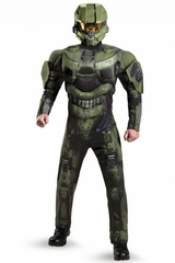 Disguise 89986 Halo Master Chief Deluxe Muscle Adult