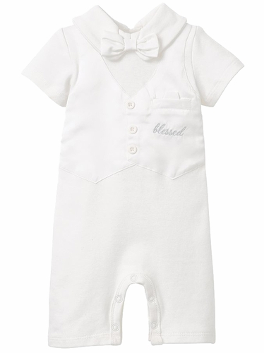 Elegant Baby 91561 Boxed Christening Baby Suit