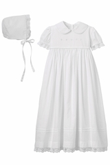 Elegant Baby 92063 Girls Christening Gown & Bonnet