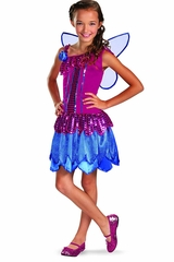 Glitter Fairy Girls Costume