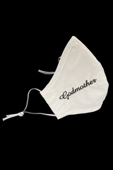 Godmother Embroidered Face Shaped Mask