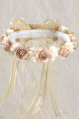 Gold Vintage Headpiece - Rosie