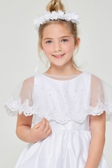 Good Girl J109 Lace Trim Bolero