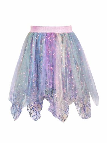 Hannah Banana By SaraSara A26252 Mermaid Sequin Handkerchief Tutu Skirt