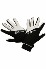 IceDress Black & White Two Color Thermal Figure Skating Sport Gloves