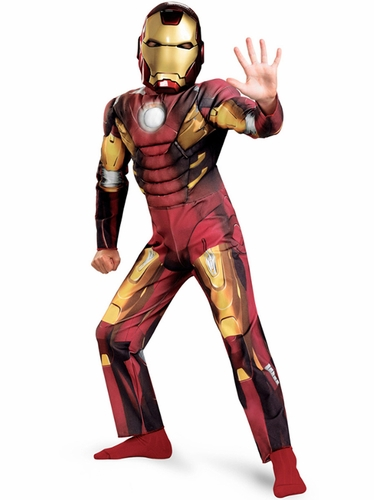 Iron Man - Mark VIII Avengers Movie Classic Muscle Costume