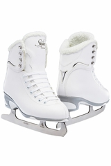 Jackson Ultima Skates JS181 White Fleece Jackson Girls