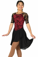 Jerry's 138 Red Classic Lace Dance Dress