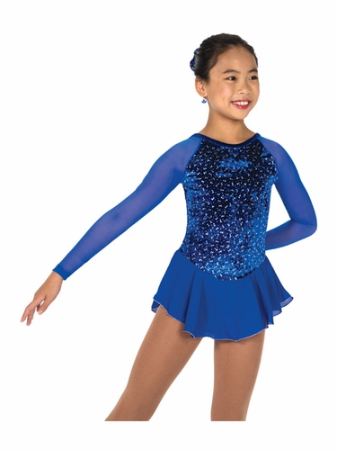 Jerry's 153 Royal Blue Diamond Chip Dress