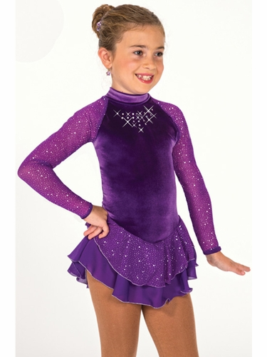 Jerry's 155 Rich Purple Starshine Dress