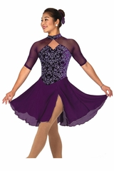 Jerry's 160 Purple Viennese Dance Dress