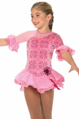 Jerry's 208 Pink Hibiscus Whirl Dress