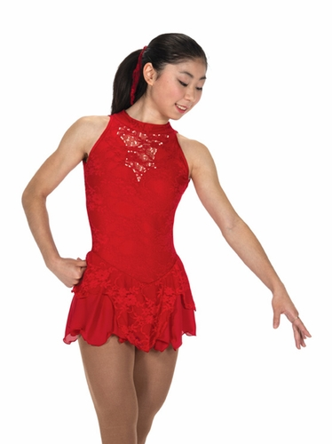 Jerry's 219 Red Champagne Sequins Dress