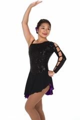Jerry's 222 Black & Purple Hidden Talents Dress