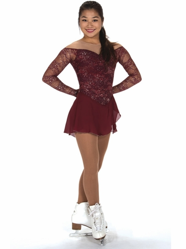 Jerry's 227 Lace Merlot Dress