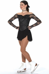 Jerry's 246 Jet Black Luxe Lace Dress