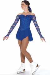 Jerry's 246 Royal Blue Luxe Lace Dress