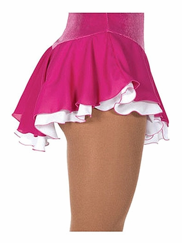 Jerry's 305 Fuchsia Double Georgette Skirt