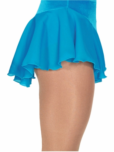 Jerry's 313 Turquoise Single Georgette Skirt