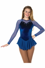 Jerry's 141 Blue Diamante Dress