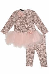 Kate Mack 519 Animal Magic Tunic & Legging Set