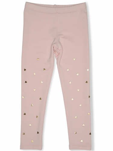 FLASH SALE: Kate Mack 528 Pink Melting Heart Legging