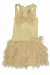 Kate Mack 565 Gold Good As Gold Butterfly Dress