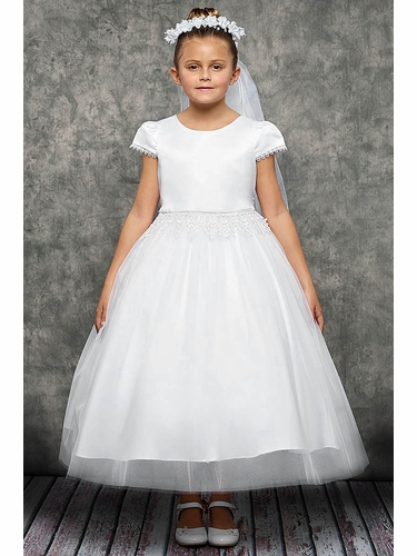Kids Dream 460  Satin and Mesh With Embroidery Chandelier Waist Trim