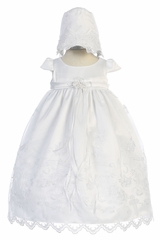 Kids Dream 470 Satin Bodice w/ Embroidered Organza Skirt