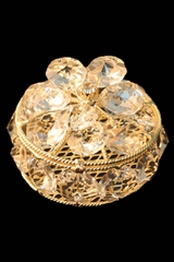 Lito AR14 Gold Arra Crystal Coin Box