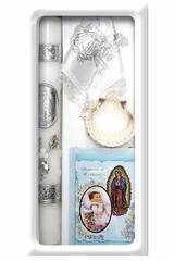 Lito SB5000 Blue Spanish Baptism Candle Gift Set