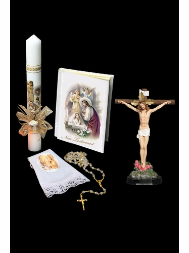 LITO SFC7041 First Communion Candle Set