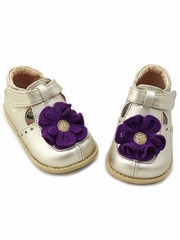 Livie & Luca Blossom Gold Shoes