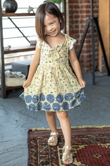 Mimi & Maggie 80323 Dots & Blossoms Collections Amy Dress