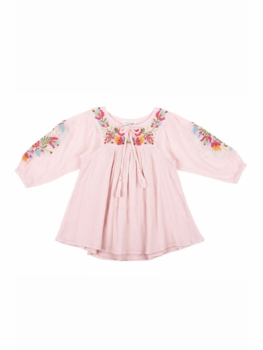 Mimi & Maggie Kimono Flower Collection 80260 Pink Museum Dress
