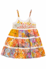Mimi & Maggie Painted Desert 80363 Paintbox Flowers Dress