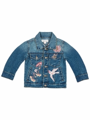 Mimi & Maggie Wildflower Collection 4175 Fall Garden Denim Jacket