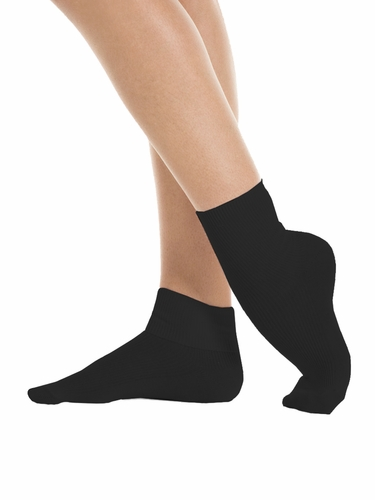 Mondor 00167 Black Ankle-Length Socks