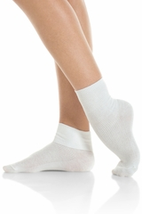 Mondor 00167 White Ankle-Length Socks