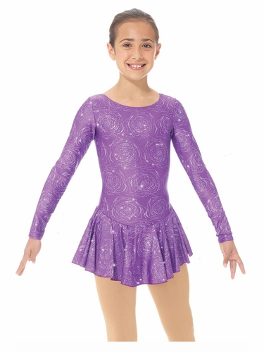 Mondor 00666 Purple Peony Shimmery Dress