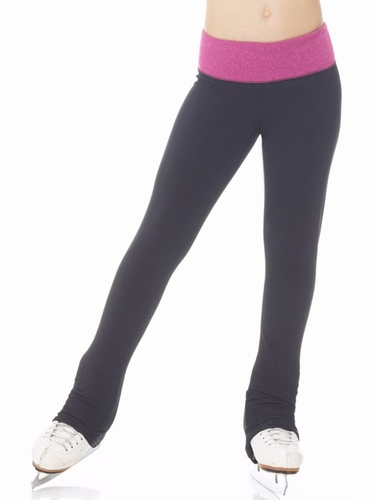 Mondor 04302 Heather Pink Thermal Leggings