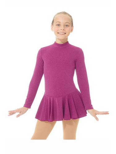 Mondor 04333 Heather Pink Born To Skate Thermal Dress