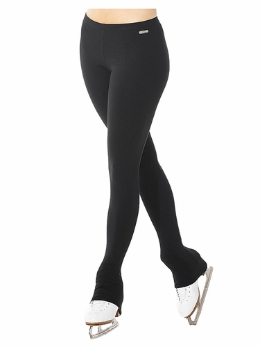 Mondor 14809 Black Cotton Blend Heel Cover Leggings