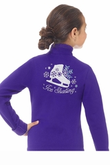 Mondor 24485 Purple Polartec Rhinestones Jacket