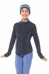 Mondor 4484 Blue Piping Skating Jacket